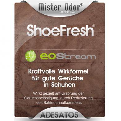 ShoeFresh entfernt Fußgeruch in Arbeitsschuhen