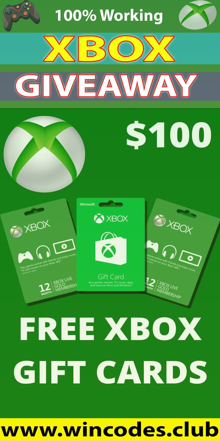 Free xbox gift cards codes xbox gift card xbox