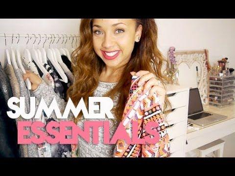 10 Summer Wardrobe Essentials - YouTube
