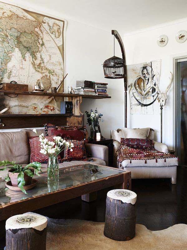 Die besten 25+ Bohemian porch Ideen auf Pinterest Café im freien - pflanzen dekoration wohnzimmer