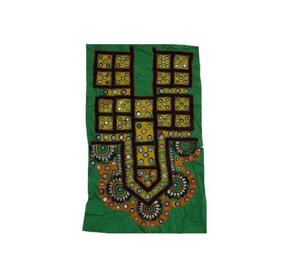 Antique Banjara Hand Stitched Dress Front Gypsy by MyCraftPalace