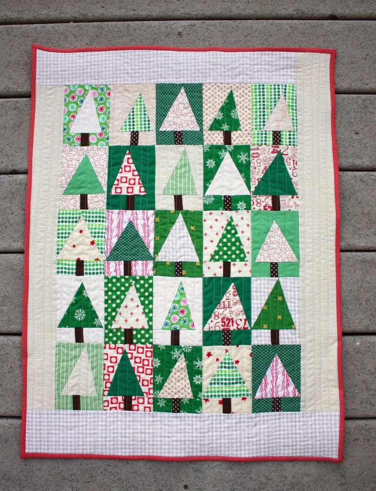 Diary of a Quilter - a quilt blog: Patchwork Tree Quilt Block Tutorial
