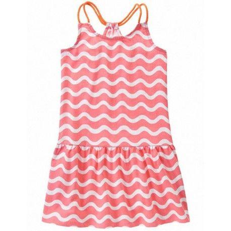 Vestido Gymboree Wave Print rosa bebe