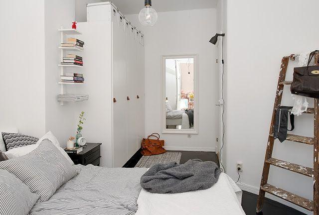 17 beste idee u00ebn over Lange Smalle Slaapkamer op Pinterest   Appartement slaapkamer decor