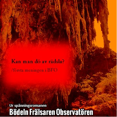 Första meningen i Bödeln Frälsaren Observatören.