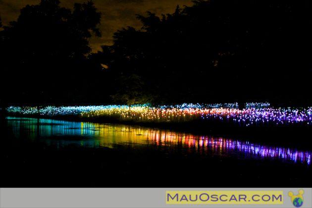 Field of Light de Bruce Munro no Longwood Gardens