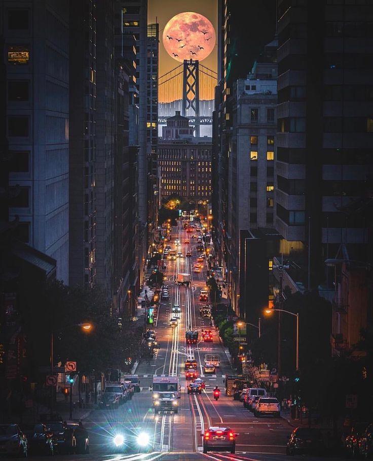 California street San Francisco #sanfrancisco #sf #bayarea #alwayssf #goldengatebridge #goldengate #alcatraz #california