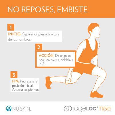 Un ejercicio sencillo para fortalecer muslos #TR90