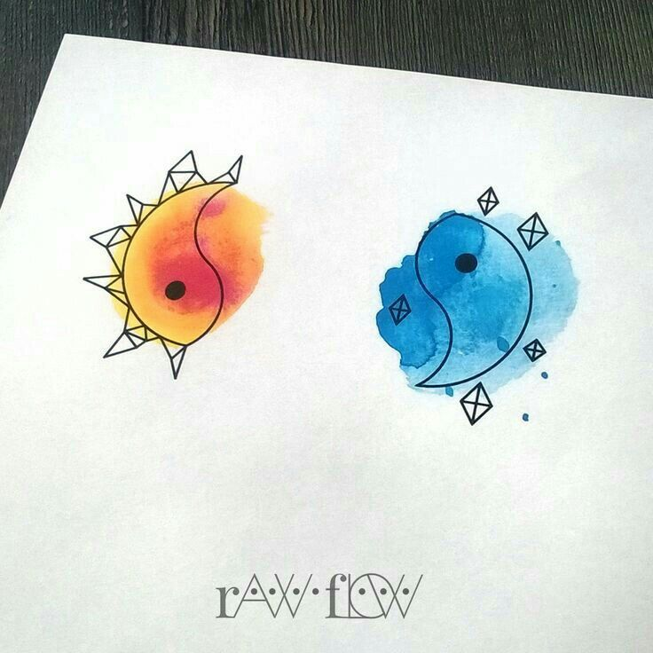 Cute designs with watercolor!! :))