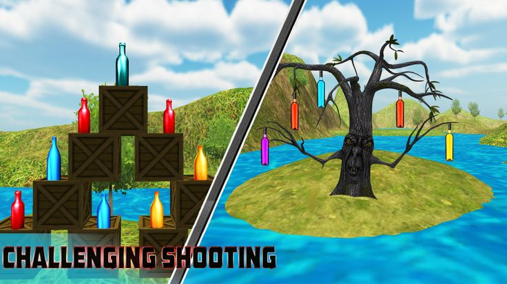 Expert Bootle Shooter 3D is real shooting fun game, free best android game. #shoot #shooting #shooter #hunter #sniper #guns #riffle #bottle shooter #android #game #best game play #action #games