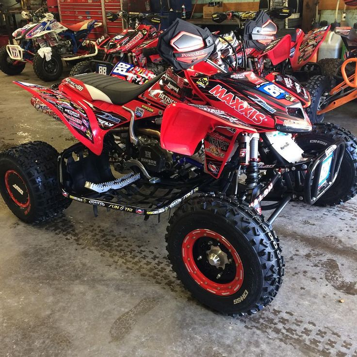 Atv Pro Challenge race bike is ready to rip! @501lauer prepped it for any…