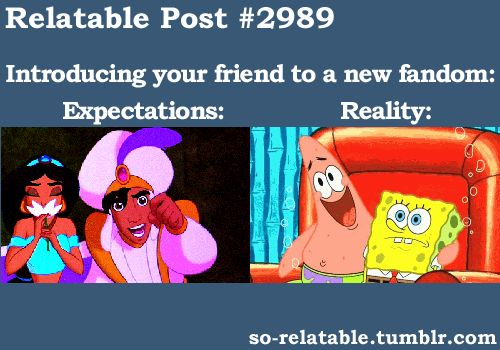 Teenager Posts Tumblr Spongebob | gif gifs spongebob spongebob squarepants expectation reality ...
