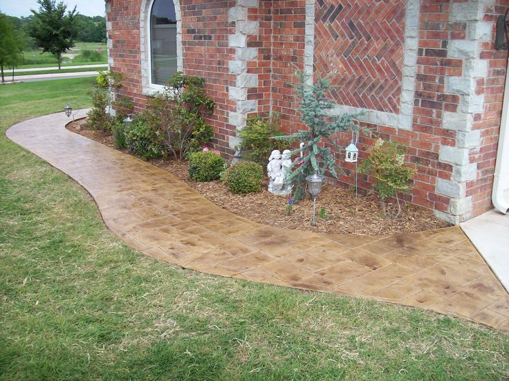 Restore, Blend and Renew Faded Color with Concrete Stain  Colored Concrete Patios are our number one project. Whether they're acid stained or integrally colored, a faded, dull patio is not a sight to behold. Spruce up with DCI Liquid Colored Antique Concrete Stain!