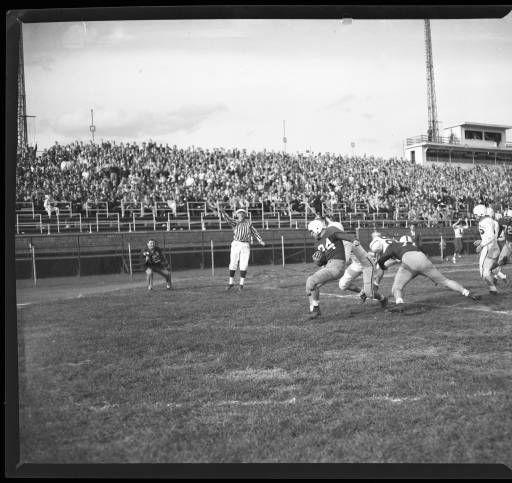 Football game against Washington University, Louisville, Kentucky, 1949. :: U of L Images