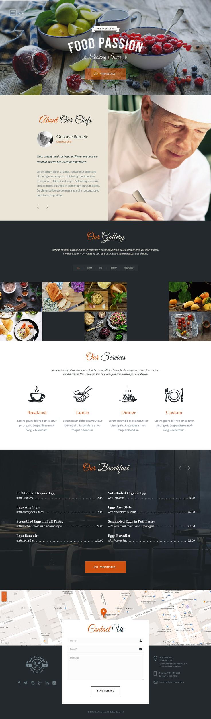 In this article, we have collected 33 new best #responsive premium themes of 7th April 2015 for #inspiration. #website