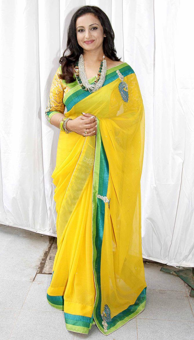 Divya Dutta at the mahurat of 'Chalk N Duster'. #Bollywood #Fashion #Style #Beauty