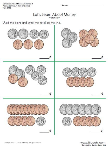 Printables Money Worksheets First Grade 1000 images about money on pinterest coins worksheets snapshot image of lets learn 4 and 4a money