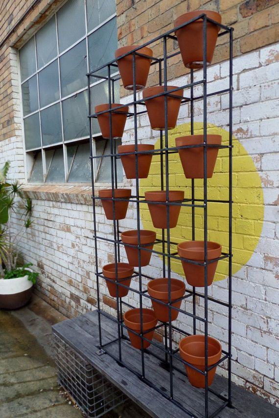 King size vertical garden ideal for indoor or by IndustriaMetal