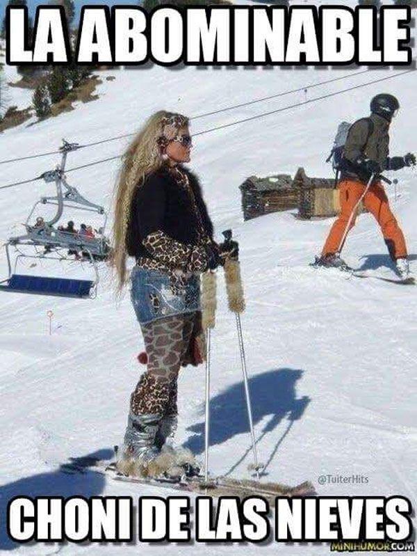 La choni de las nieves. #humor #risa #divertidas By: Héctor Alberto