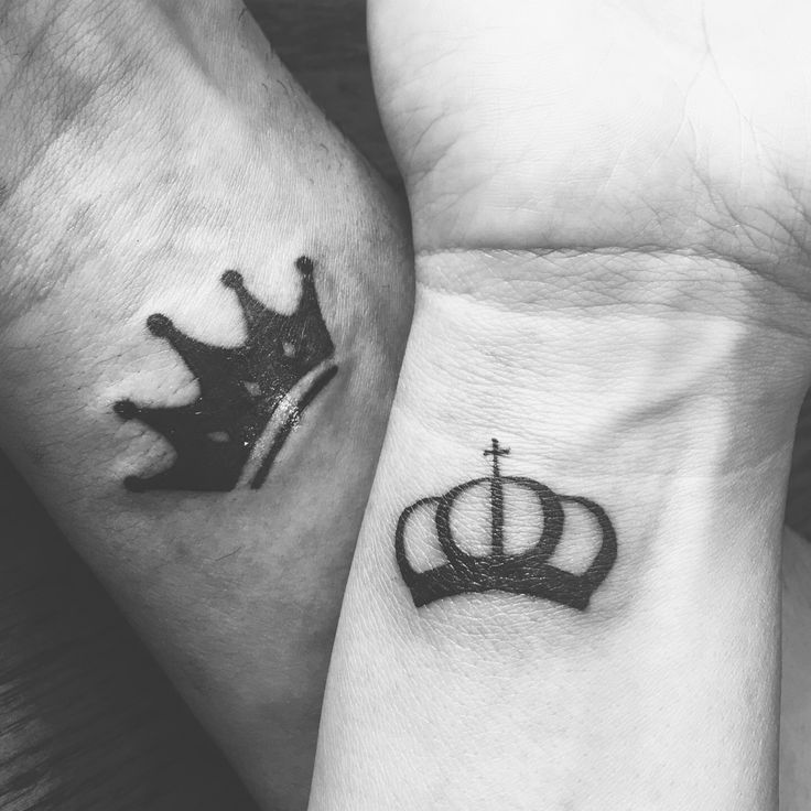 1000 ideas about king queen tattoo on pinterest queen tattoo tattoos and tattoos for couples. Black Bedroom Furniture Sets. Home Design Ideas