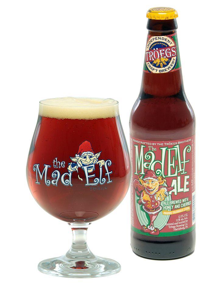 Tröegs Mad Elf | Belgian Strong Dark Ale | 11% ABV | Hershey, PA #craftbeer #beer