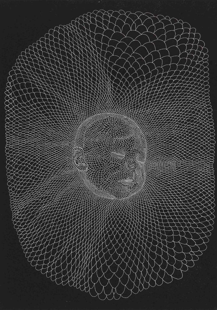 Walter Oltmann (b 1960). SLEEPING CHILD 2013. Hardground etching, printed in relief, 42 x 59cm.