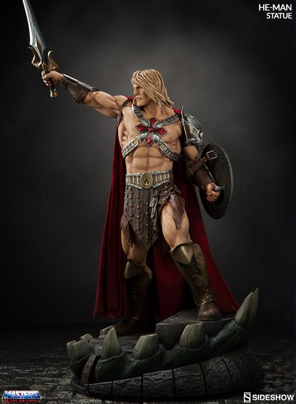 We have the power! Introducing Sideshow's He-Man Statue from Masters of the Universe | Sideshow Collectibles