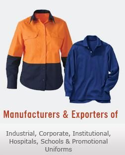 Baba Uniforms is a uniform manufacturer and supplier company located in New Delhi which is established in 1990. We manufacture all kinds uniforms such as corporate uniforms, industrial uniforms, school uniforms, hospital uniforms and hotel uniforms.