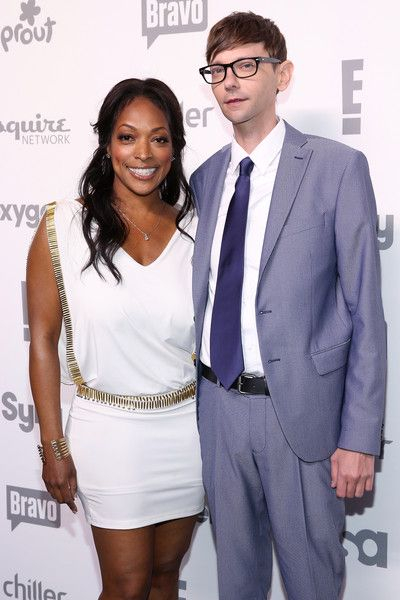 Kellita Smith Photos - Actors Kellita Smith and DJ Qualls ttend the 2015 NBCUniversal Cable Entertainment Upfront at The Jacob K. Javits Convention Center on May 14, 2015 in New York City. - 2015 NBCUniversal Cable Entertainment Upfront
