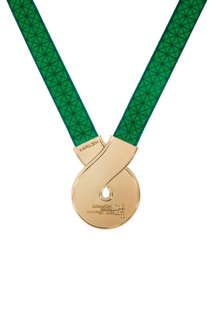 Médaille Schneider Marathon de Paris