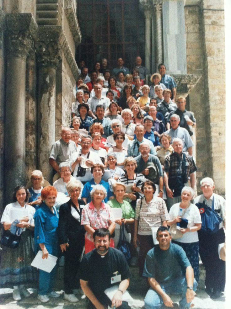 My Pilgrimage with Fr. Pacwa S.J. to Holy Land. This is at ...