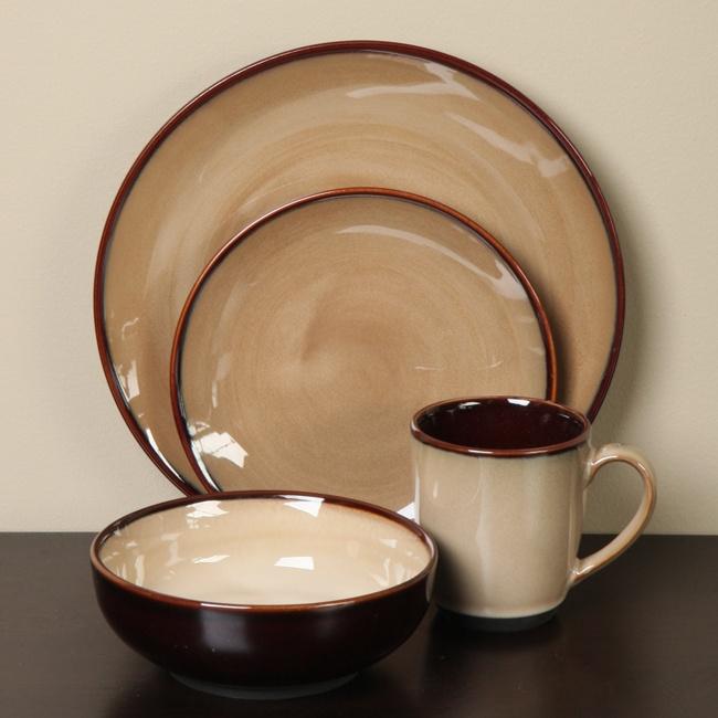 sango nova brown dishes http://annagoesshopping.com/dinnerware