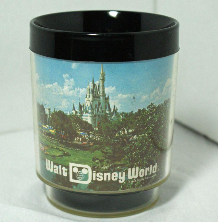 Walt Disney World Thermal Mug Insulated Coffee Cup Vintage Thermo Serv  #ThermoServ