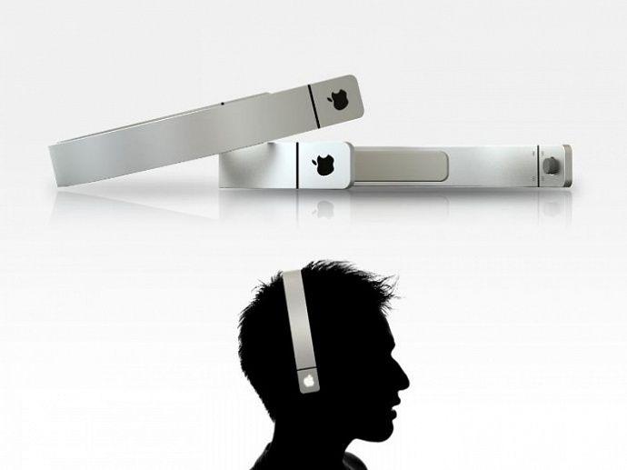 Apple создала беспроводные наушники для черепа