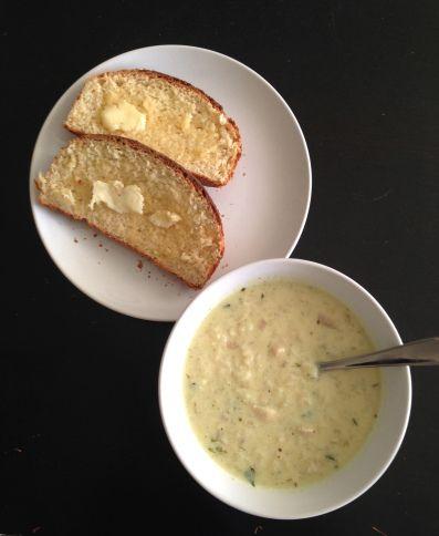 Secret Ingredient Lemon Rice Soup