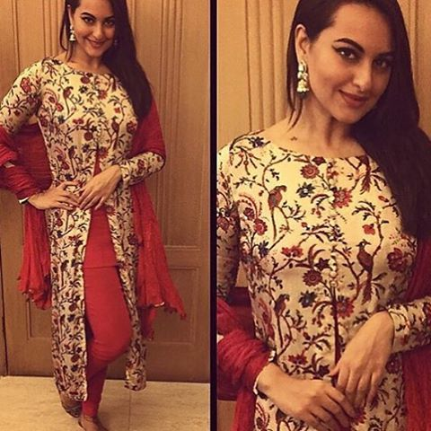 Loving this front slit kurta #outfit by @ohailakhanofficial .. So pretty! Isn't it?