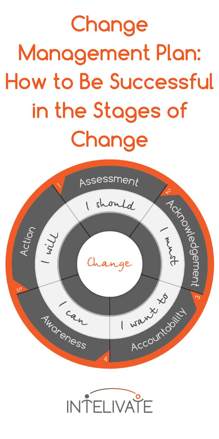 Change Management Plan How To Be Successful In  Stages Of Change