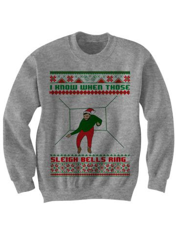 Drake Ugly Christmas Sweater I Know When Those Sleigh Bells Ring Christmas Sweater Ladies Mens Tops Cheap Sweaters Cheap Gifts Kids Gifts
