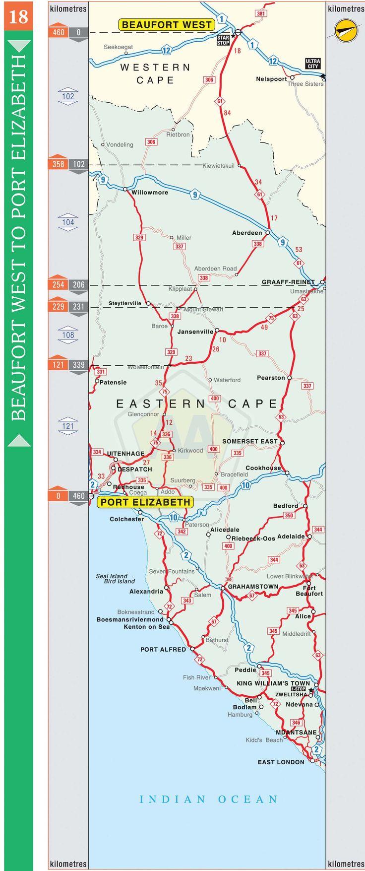 Beaufort West to Port Elizabeth | Automobile Association
