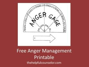 Anger management can be difficult for many children. Engaging students in a hands-on activity is a great way to redirect their focus. Coloring and cutting out the following Anger Gage is a productive diversion that allows the child to validate how they are feeling, as well as determine the intensity of their anger.