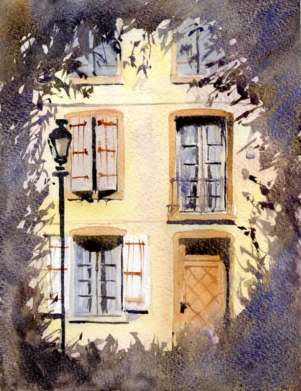 Watercolor Painting Tutorial Step by Step by Allan KirkWatercolor Painting Tutorials, Tutorials Step, Watercolor Art Paintings, Watercolors Art Painting, Amazing Step, Watercolors Painting Tutorials, Watercolors Tutorials, Step Watercolors, Architecture Art Lessons