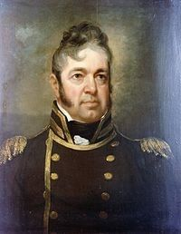 Commodore William Bainbridge (1774-1833). During his long career in the navy, he served under six presidents and commanded several famous ships, including USS Constitution. Saw service in the Barbary Wars and the War of 1812.