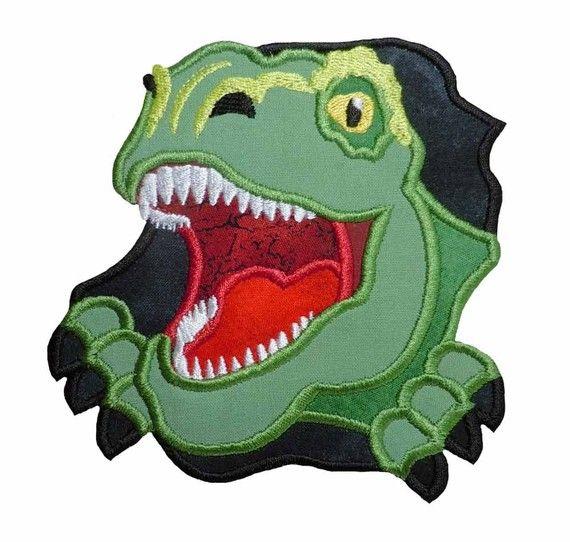 Dino Rex Applique Machine Embroidery Design von NewfoundApplique, $3.49
