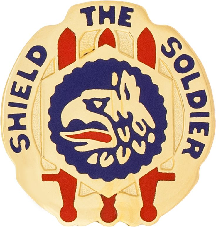 450th Chemical Bn Unit Crest (Shield The Soldier)