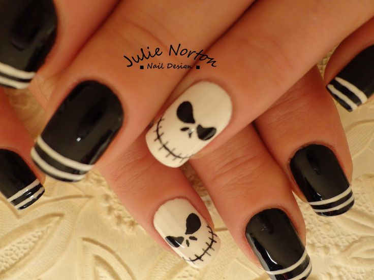 Nightmare Before Christmas nails. - Best 25+ Nightmare Before Christmas Nails Ideas On Pinterest