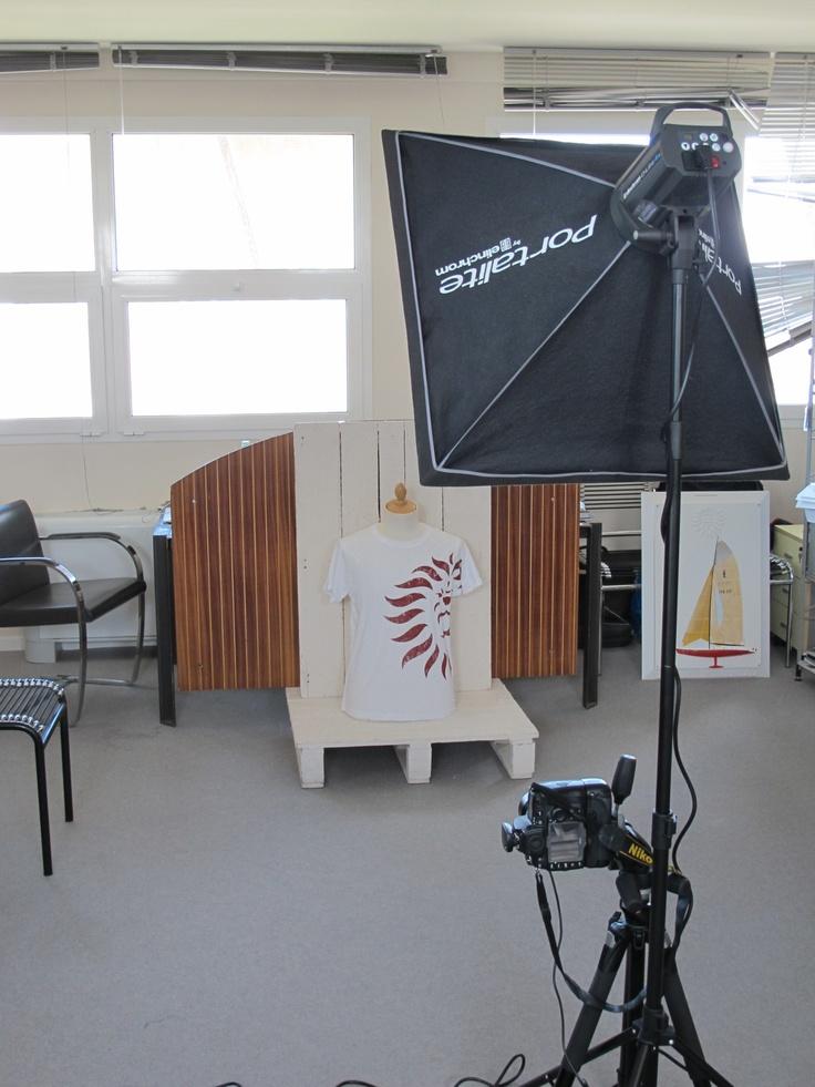 shooting backstage