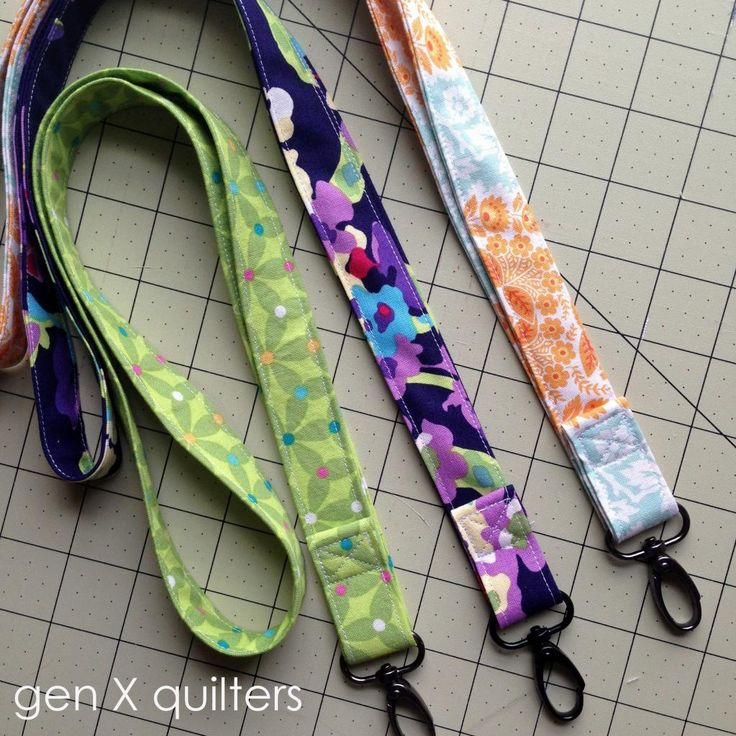 Quick Teacher Gift - Lanyard Tutorial || Gen X Quilter's
