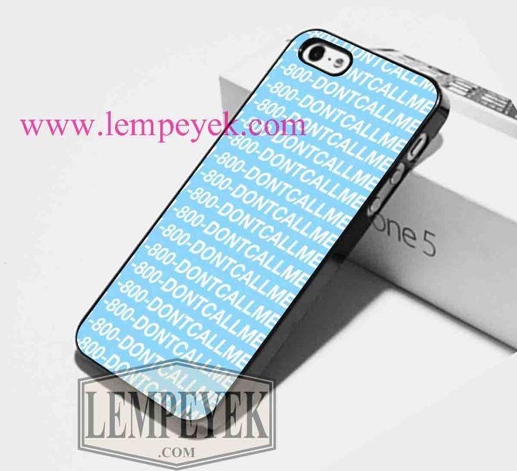 Drake Hotline Bling 1-800-Dontcallme Phone case iPhone case, Samsung Galaxy…
