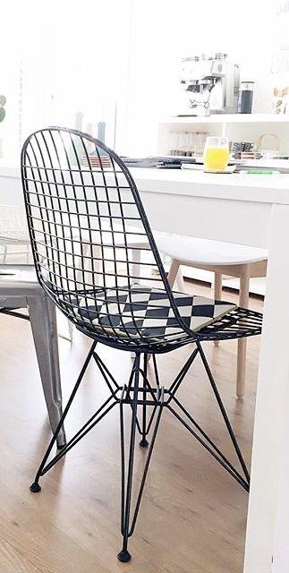 Via NordicDays.nl | Eames DKR Wire Chair | JoanneGelderman88