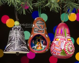 Southwestern Christmas Ornament Set -Andean (o60)